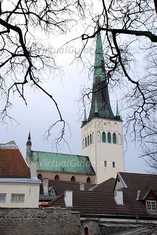 Таллинн. Церковь Святого Олафа - Олевисте
