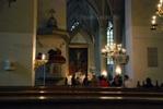 Алтарь церкви св. Олафа (Олевисте)