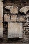 Каменные украшения из разрушенной церкви св. Катарины