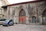 Полуразрушенный портал церкви св. Катарины