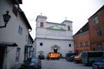 Католическая церковь Петра и Павла, построенная на месте монастыря Катарины