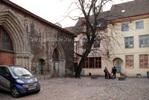 Площадь перед порталом церкви св. Катарины