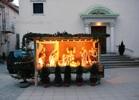 Рождественские ясли перед Петропавловской церковью